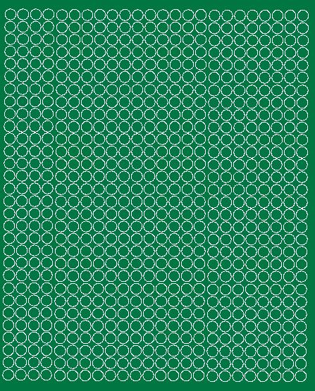 Koła grochy samoprzylepne 7 milimetrów zielone z połyskiem 720 szt